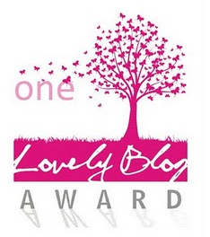 Award One Lovely Blogger Award